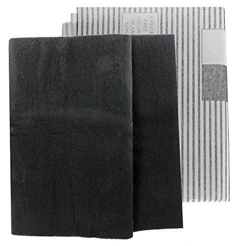 SPARES2GO - Filtri antigrasso grandi universali per condotti di ventilazione di cappe da cucina (2...