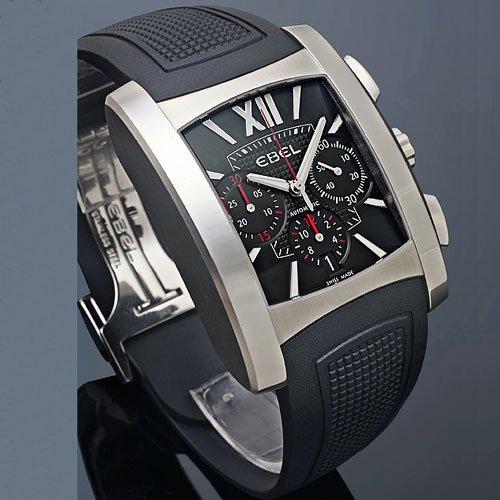 Ebel Brasilia Gents Stainless Steel Mens Chronograph Watch Calendar 9126m52/53br35606 1215783 - 2