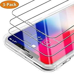Kaufen iPhone X / Xs Panzerglas [3 Stück] Syncwire - [Design Komplett zu Face ID Geschützt] HD Panzerglasfolie 9H Härte Displayschutzfolie für iPhone X / Xs (Bruchsicher, Blasenfrei, 3D-Touch, mit Hülle Verwendbar, Leicht Anzubringen)
