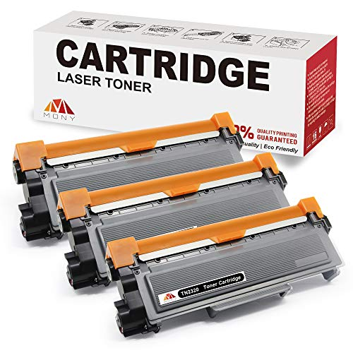 Mony Compatibile TN2320 TN-2320 Cartuccia del Toner (3 Nero) per Brother MFC-L2700dw MFC-L2700dn...
