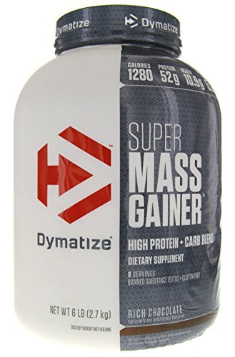 Dymatize Nutrition Super Mass Gainer - 6 lbs (Rich Chocolate)