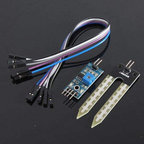 51T8AGkB5NL - SODIAL(R) Suelo higrometro Deteccion de humedad Modulo Sensor de humedad Prueba de Arduino PI