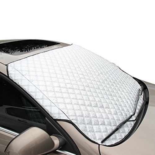 FREESOO Q330002-02-yk-xd01-b Auto Parabrezza Parasole di Ghiaccio Gelo Neve Parabrezza Dust...