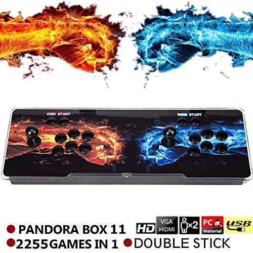 SeeKool Pandora 11 Console de Jeux vidéo Arcade, 2255 en 1 Console de Jeux vidéo HD Retro, Commandes de Jeu à 2 Joueurs Double Stick Arcade ... 22