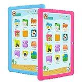 Tableta Para Niños,SANNUO 10.1 Pulgadas Tablet Infantil (Andorid 9.0 y Niños-modo Doble Sistema,Quad-Core,2GB RAM y 16GB ROM,3G,Wifi, Google Play, Juegos Educativos)