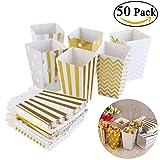 BeschreibungDas Element ist eine Packung von 50 Stück Popcorn Kästen aus langlebigen Pappe und ähnelt eine Film Theater Stil Popcorn Wanne. Unsere Wellenschliff zugunsten Box kann als Candy Box verwendet werden, zu behandeln oder Popcorn-Box. Auch ei...