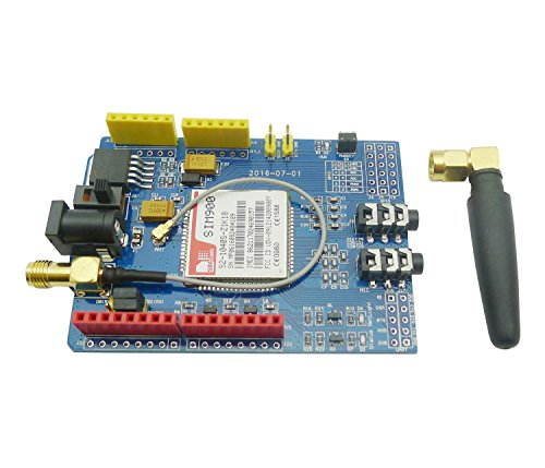51TNu7 fi1L - Aihasd SIM900 gsm GPRS Module Quad-Band Development Board Wireless Data for Arduino Raspberry Pi