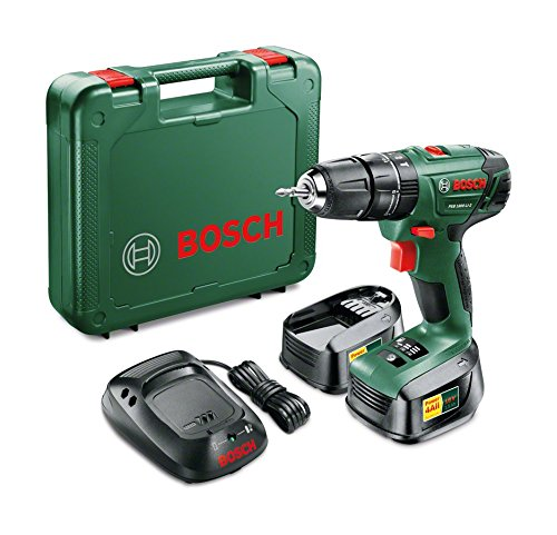 Bosch PSB 1800 LI-2 Cordless Combi Drill Product Review - Overall its a fantastic job to have around the home and for DIY projects, all though its up to most jobs its probably not the best choice for professional use.