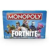 Hasbro E6603103 Monopoly Fortnite Gioco da Tavolo, 13 anni+, Per 2-7 Giocatori- Versione in Lingua Italiana