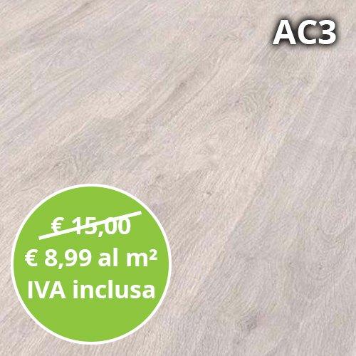 Pavimento in Laminato Rovere Baltico Confezione Da 2.47 Mq | AC3