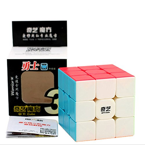 FunnyGoo Qiyi Warrior W 3x3x3 cubo magico cubo velocità cubo puzzle ( senza adesivo )