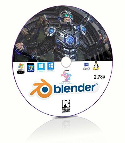 Blender 3D Graphics Design and Animation Studio Professional Software DVD