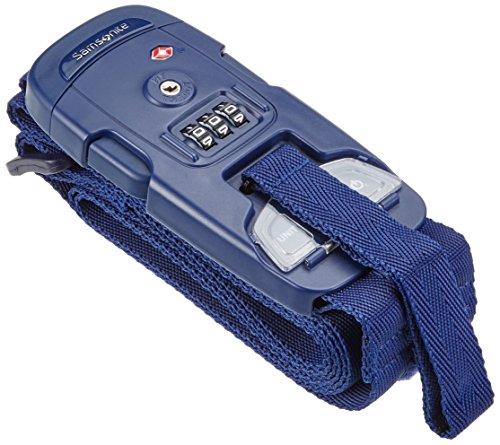 Samsonite Travel Accessories Us 3 Combi Strap Scale Bilancia Pesa Valigie, Indigo Blue, 25 cm