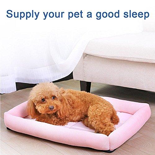 lulalula raffreddamento Pet Bed, PET divano letto imbottito tappetino per raffreddamento comodo...