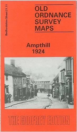 Ampthill 1924: Bedfordshire Sheet 21.11 (Old O.S. Maps of Bedfordshire)