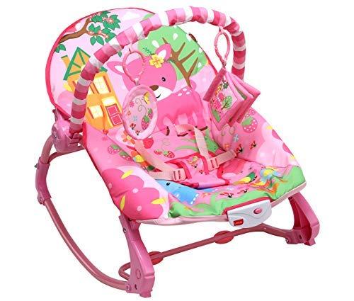LuvLap Springdale Newborn to Toddler Portable Rocker Cum Bouncer