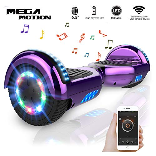 Mega Motion Self Balance Scooter Elettrico 6.5 E-Shine, Segway autobilanciato, Balance Scooter with...