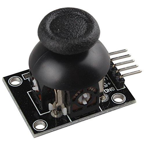 Questo è il modulo joystick gioco PS2per Arduino Un sacco di progetti di robot hanno bisogno di joystick. Questo modulo fornisce una soluzione conveniente per quello. Basta collegarsi a due ingressi analogici, il robot è ai vostri comandi co...