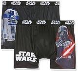 Star Wars SW/AM/1/PK2, Boxer Uomo, Multicolore (MULTICOLOR A12), XL, Pack de 2