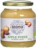 Biona Organic Apple Puree 360 g (Pack of 6)