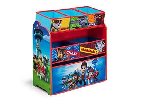 Delta Children TB84998PW-1121 - cajas de juguetes y de almacenamiento (Toy storage organizer, Multicolor, Imagen, Tela, Madera, 3 año(s), 6 año(s))