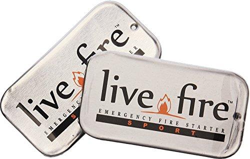 LIVE FIRE LF08, Kit di Sopravvivenza Unisex - Adulto, Multicolore, Taglia Unica