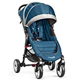 Baby Jogger City Mini 4 - Silla de paseo, color turquesa/gris