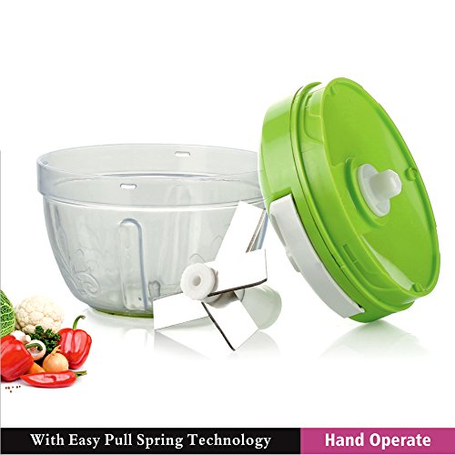 BMS New Comfort Handy Chopper with 4 Blades, (Colour May Vary)