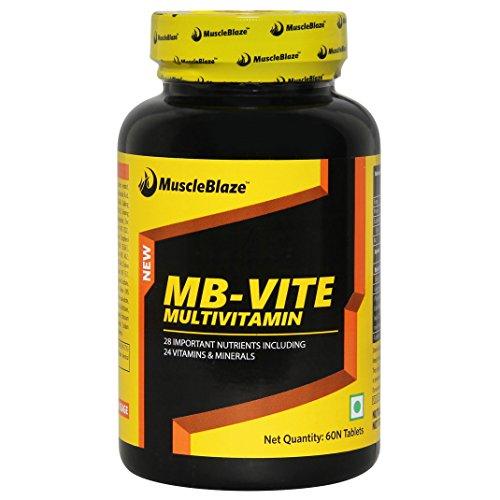 MuscleBlaze VITE Multivitamin, 60 Tablets