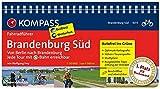 KOMPASS Fahrradführer Brandenburg Süd, Von Berlin nach Brandenburg: Fahrradführer mit Routenkarten im optimalen Maßstab.