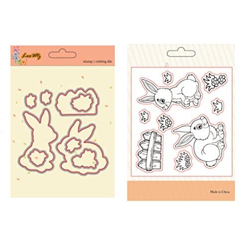Suweqi - Plantilla de metal para recortes de tarjetas, álbumes de recortes, decoración de bodas, tarjetas de felicitación, diseño de lapeo.