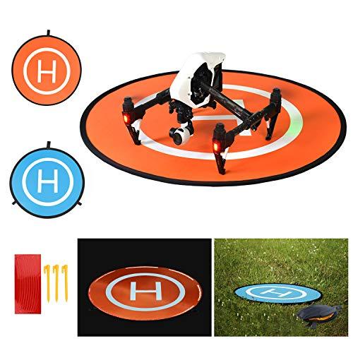 BelleStyle Drone Landing Pad, 75cm Impermeabile e Pieghevole Pad di Atterraggio per Elicotteri RC...