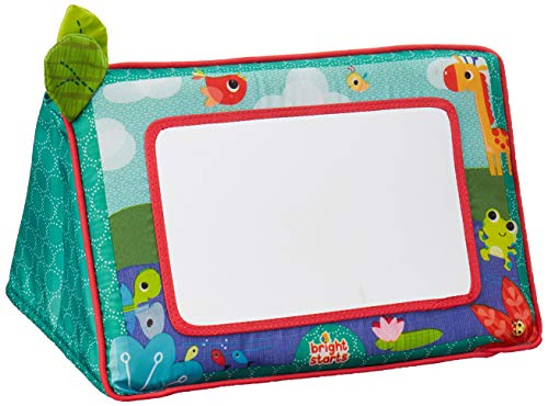 Bright Starts Sit and See Safari Floor Mirror, Essential baby toys, toys for every developmental stage, baby toys, must have baby toys, the best toys for babies, gift ideas for babies, Christmas baby gift ideas, gifts for babies