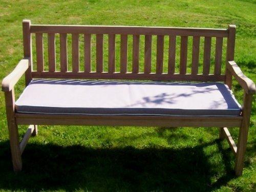 coussin pour banc d 39 ext rieur 3 places couleur du coussin taupe organise ta f te au. Black Bedroom Furniture Sets. Home Design Ideas