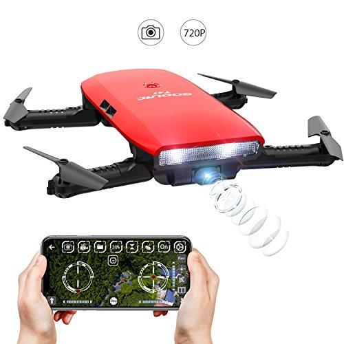 Drone Droni con Macchina Fotografica-GoolRC T47 Drion di Controllo Motionalmente Pieghevole FPV...