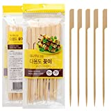 ShuHui Household Products Favor - Spiedini USA e Getta in bambù, 30 Pezzi