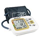 BROADCARE Oberarm-Blutdruckmessgerät, Digitales Blutdruckmessgerät mit LCD Display für vollautomatische Blutdruck- und Pulsmessung am Oberarm mit Arrhythmie-Erkennung, Höher Genäuigkeit und USB-Aufladung