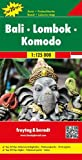 Bali - Lombok - Komodo: Toeristische wegenkaart 1:125 000 (Freytag&Berndt)