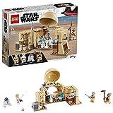 LEGO Star WarsTM - La cabane d'Obi-Wan, Jouet Star Wars Enfant 7 Ans Et Plus, 200 Pièces - 75270