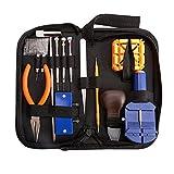 164pz Kit riparazione orologi Professional Spring Bar Tool set, Watch Band Link pin Tool set con custodia da trasporto