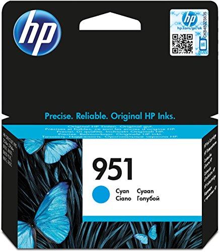 HP 951 Blau Original Druckerpatrone für HP Officejet Pro 276dw, 8600, 8610, 8620, 251dw, 8100