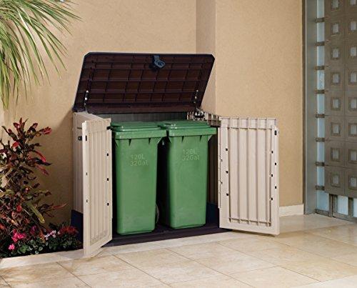 Keter Grand coffre de rangement pour le jardin en pvc CARACAS 845 L ...