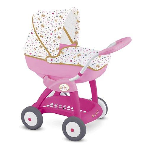 Smoby 7600251123 - Bambola Baby Nurse Carrozzina