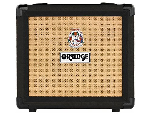 "Orange Crush 12 Guitar Amp Combo Black Single channel solid state Crush 1x6"" combo headphone out, 12 Watts"