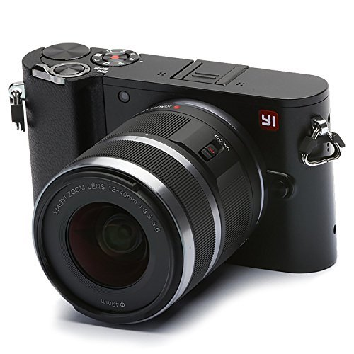 YI Fotocamera Mirrorless Fotocamera Digitale Compatta Obiettivo Intercambiabile 4k Camera Mirrorless...
