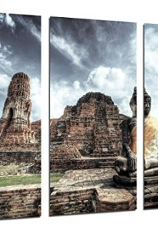 Cuadro Fotográfico Buda, Buddha, Relajacion, Zen Tamaño total: 97 x 62 cm XXL
