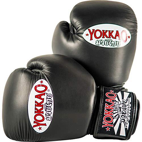 Yokkao Matrix nero Muay Thai boxe guanti, 14 oz