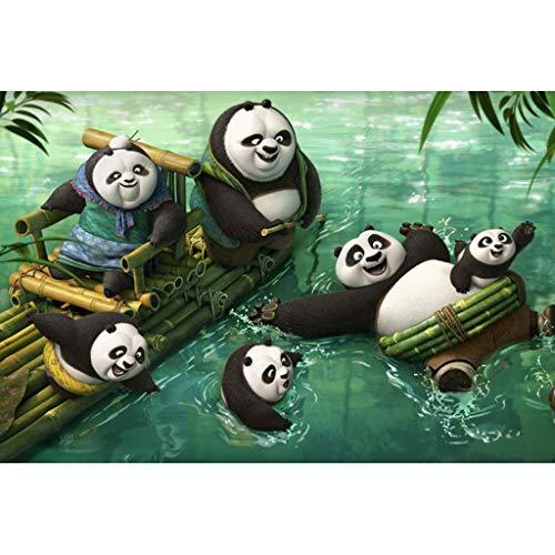 YC-PUZZLE Movie Kung Fu Panda 3 Wood 300/500/1000/1500 Giocattoli educativi for Bambini for Adulti...