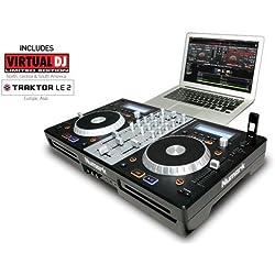 Numark MIXDECKEXPRESS - Controlador de DJ (3 canales)
