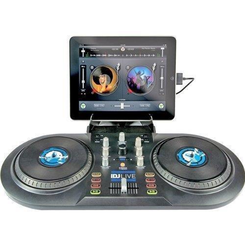 Numark iDJ Live - Controlador de DJ, color negro